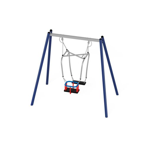 Metal swing 31204 with Parent and Child Seat (Orbis or A4K) - 31235