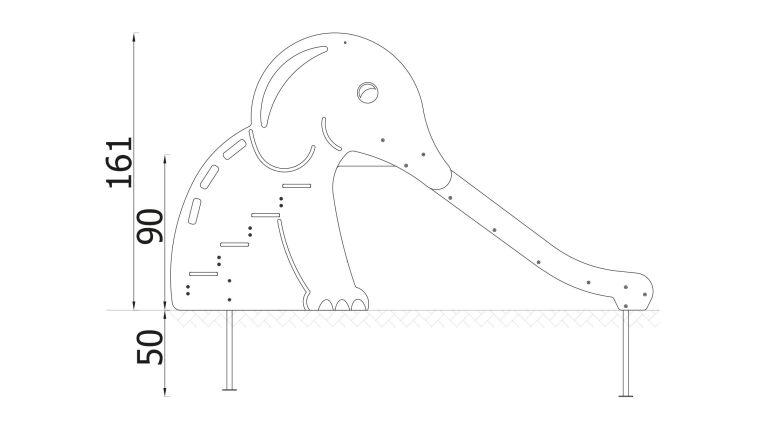 Mini Elephant Slide - 2120EPZ_5.jpg