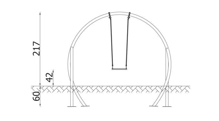 Swing Serpentine with stainless steel pipe - 3155SN_6.jpg