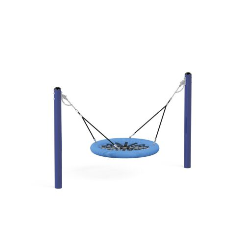 Birdnest swing on poles - 31114