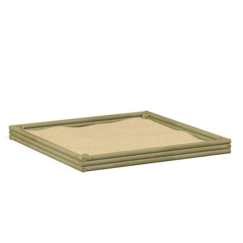 Log Sandbox 3x3m - 3703