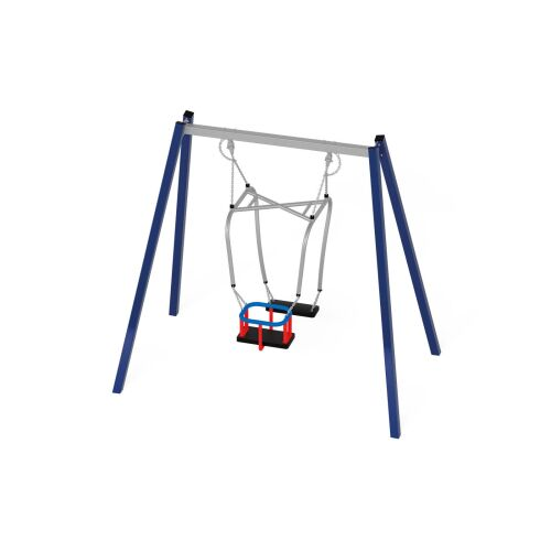 Quadro Metal Swing 31205 with Parent and Child Seat - 31236